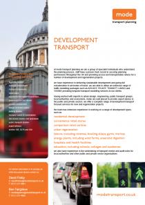 Development Transport 14